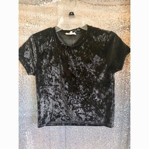 Tops - Black Velvet Top